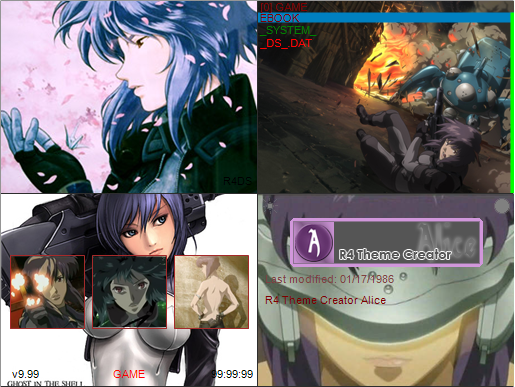 Thumbnail 1 for Motoko skin